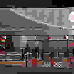 Fachada Bar Brahma Bares e clubes modernos por Quatro Fatorial Arquitetura e Urbanismo Moderno