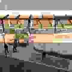 Bitumen Lab at Nelson Mandela University by noh ARCHITECTS Modern Metal