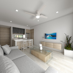 Tropical style study/office by ROEDI Tropical