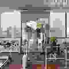 Minimalist style gym by Дизайн-студия элитных интерьеров Анжелики Прудниковой Minimalist