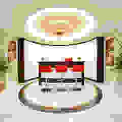Bosphorus City Villa - Istanbul / Turkey من Sia Moore Archıtecture Interıor Desıgn كلاسيكي رخام
