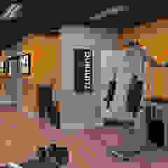 Academia para área comum Fitness moderno por Arquorum Arquitetura Moderno Ferro/Aço