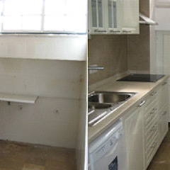 Recuperação total de Moradia antiga M. Estoril t4 Cozinhas clássicas por Wish House Clássico