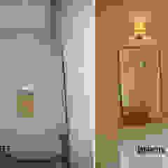 Recuperação total de Moradia antiga M. Estoril t4 Corredores, halls e escadas clássicos por Wish House Clássico