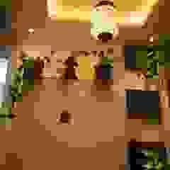 الآسيوي، الممر، رواق، &، درج من Enrich Interiors & Decors أسيوي