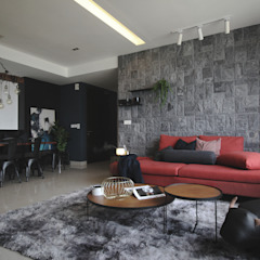 Project RB / Metropark by SIXTH Interior Sdn Bhd Rustic