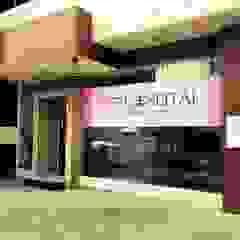 Seitai Clinic Clínicas y consultorios médicos de estilo asiático de UpMedio Design Asiático