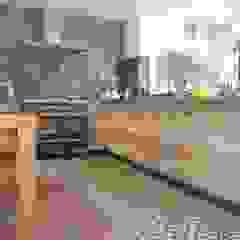 Płytki na podłogę do kuchni od Cerames Wiejski