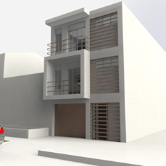 من MARROOM | Diseño Interior - Diseño Industrial حداثي
