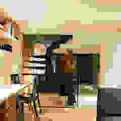 Estudio Estudios y despachos de estilo moderno de CHAVARRO ARQUITECTURA Moderno Concreto