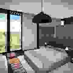 House Voet Scandinavian style bedroom by Juan Pretorius Architecture PTY LTD Scandinavian