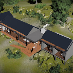 توسط Juan Pretorius Architecture PTY LTD اسکاندیناویایی