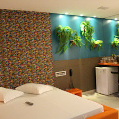 Bangunan Kantor Tropis Oleh Escritorio de Arquitetura Karina Garcia Tropis