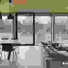 Puertas y ventanas minimalistas de Przedsiębiorstwo Bizmet Spółka z o.o. Minimalista Aluminio/Cinc
