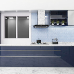 Eclectic style kitchen by Raj Creation Eclectic