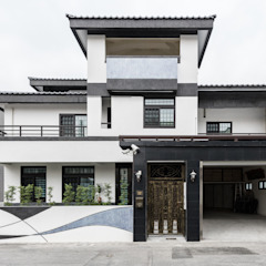 Asian style houses by 德廚臻品 室內設計公司 Asian