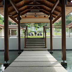 ممر، إستوائي، ممر، رواق، &، درج من Mode Architects Sdn Bhd إستوائي