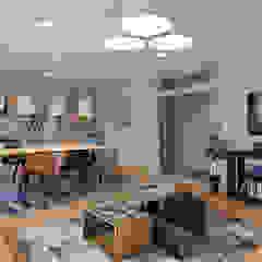 Sala de convívio em alojamento local Hotéis eclécticos por Carla Ramalho - arquitetura e design de interiores Eclético