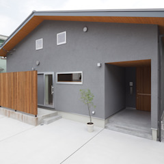 富高の家 オリジナルな 家 の ai建築アトリエ オリジナル