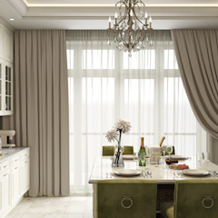 Classic style kitchen by mlynchyk interiors Classic