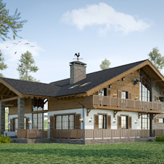 by mlynchyk interiors Rustic Wood Wood effect