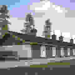 Garajes rústicos de mlynchyk interiors Rústico Madera Acabado en madera