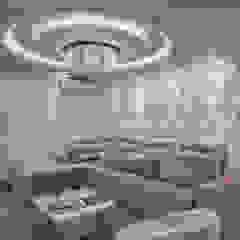 Apartamento Chanel Salas de estar modernas por Designer de Interiores e Paisagista Iara Kílaris Moderno
