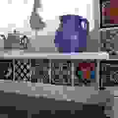 Patchworki z płytek meksykańskich od Cerames Klasyczny Ceramiczny