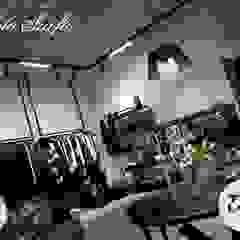 Oświetlenie salonu odzieżowego od The Light Nowoczesny