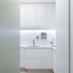Cliniques minimalistes par Okla Arquitetura Minimaliste MDF