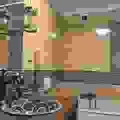 Kolorowe umywalki Klasyczna łazienka od Cerames Klasyczny