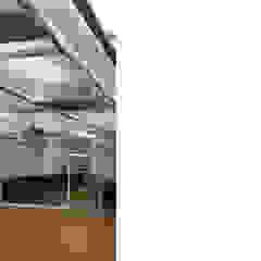 [사무공간] 오피스 인테리어 인더스트리얼 서재 / 사무실 by Design Partner Blue box 인더스트리얼 벽돌