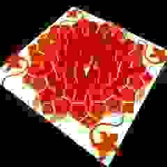 Sensorial Gate - Lampada Mandala Cromoterapica Sala multimediale moderna di SeFa Design by nature Moderno