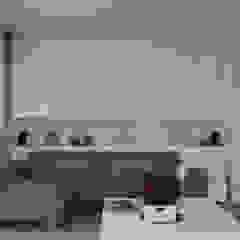 130m2 - żoliborz Skandynawski salon od t design Skandynawski