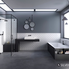 Industrial style bathroom by SILVERPLAT Industrial