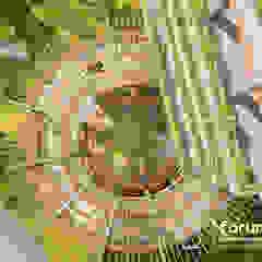 por Well Arquitectura Industrial Madeira Efeito de madeira