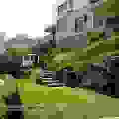"""Proyecto paisajista """"Casa jardín"""". Club náutico Poseidon, Pucusana Lima Perú. Jardines eclécticos de Rafael Rivero Terry arquitecto paisajista Ecléctico"""
