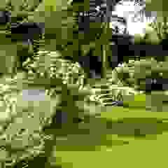 "Proyecto paisajista ""Casa Wainscott"". East Hampton, New York. Jardines eclécticos de Rafael Rivero Terry arquitecto paisajista Ecléctico"