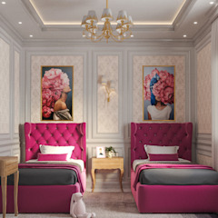 Girls Bedroom من Flamingo Studio كلاسيكي MDF
