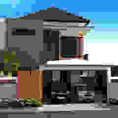 Dharma House Oleh KuntArch Studio Minimalis Batu Bata