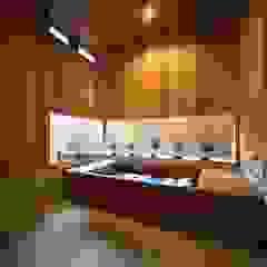 大人の カリフォルニア スタイル 北欧スタイルの お風呂・バスルーム の 株式会社高野設計工房 北欧