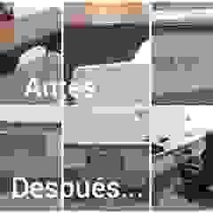 Restauracion de escritorio en madera estilo clásico de Margarita Arango Clásico Madera maciza Multicolor