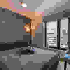 W angielskim stylu Kolonialna sypialnia od Perfect Space Kolonialny
