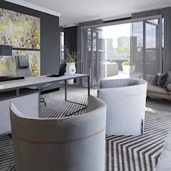 Sandton Penthouse Interior Design & Architecture by CKW Lifestyle Associates PTY Ltd Modern