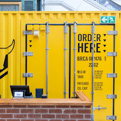Container Restaurant, Cape Town by AB DESIGN Eclectic