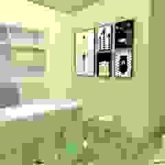 Tropical style clinics by Francielle Calado Arquitetura Tropical