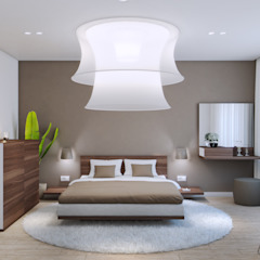 Industrial style bedroom by Wide Design Group Industrial