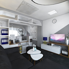 PUTRA PADJAJARAN MANDIRI Interior design Kantor & Toko Modern Oleh viku Modern