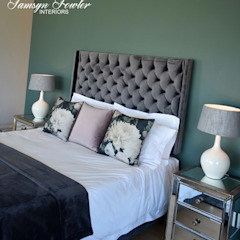Guest room Modern style bedroom by Tamsyn Fowler Interiors Modern