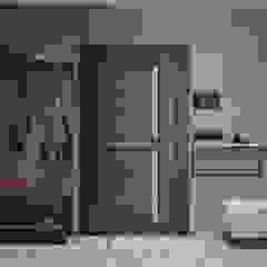 Scandinavian style corridor, hallway& stairs by OM DESIGN Scandinavian